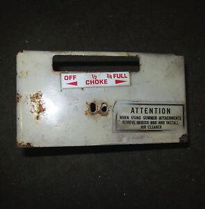Tecumseh 32414 Carburetor heater cover box carb 3.5hp Ariens 932001 h35 45503M