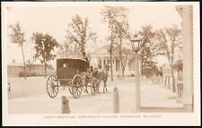 DEARBORN MI Greenfield Village Horse & Buggy Vintage RPPC Postcard Old Photo