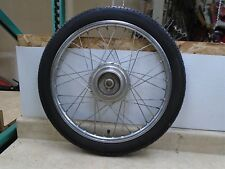 Honda 50 PA HOBBIT PA50 Moped Used Rear Wheel Rim 1978 HB378 HW16