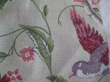 Laura Ashley Summer Palace Cranberry Fabric Price Per Metre