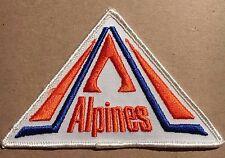 Vintage 1980's Moncton Alpines Logo Patch AHL