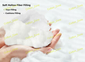 Virgin Hollow Fibre Stuffing Filling Teddy Bear Toy Cushion Pillow Anti-allergic