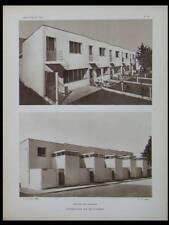 L'ARCHITECTE 1928 STUTTGART, WEISSENHOF, MIES VAN DER ROHE, OUD, LE CORBUSIER