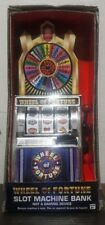 Wheel Of Fortune Slot Machine Bank NEW!