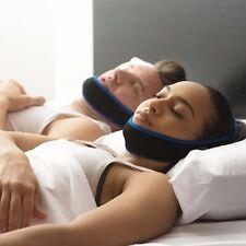 Hot Snore Stop Belt Snoring Cpap Chin Strap Anti Sleep Apnea Jaw Solution Sleep
