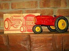 """EARLY COCKSHUTT """"30"""" TOY TRACTOR AUTH SCALE MODEL, WITH ORIGINAL BOX"""