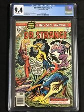 Dr Doctor Strange Annual #1 CGC 9.4 * Dave Cockrum Cover