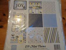 "SALE New Echo Park 12""x12"" Mini Theme Pride and Joy Boy"