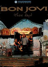 BON JOVI 1996 THESE DAYS TOUR CONCERT PROGRAM BOOK / RICHIE SAMBORA / EX 2 NMT