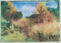 "Contemporary Oil Painting on Canvas Landscape Unframed Art Decor (5"" x 7"")"