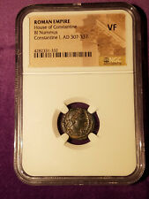 Constantine I, AD 307 - 337, BI Nummus, Ancient Byzantine, certified NGC VF