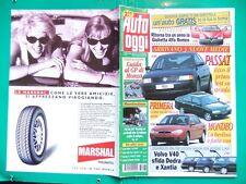 D AUTO OGGI 1996 N.35,ALFA ROMEO GIULIETTA,MONDEO,PASSAT,PRIMERA,SEAT IBIZA,155