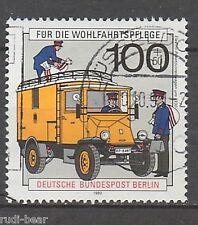 Berlin Nr.  878  gest.  Elektro Paket Zustellwagen um 1930    -6