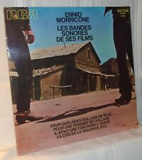 Ennio Morricone LES BANDES SONORES DE SES FILMS French '71 Compilation LP Sealed