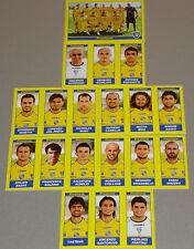 FIGURINE CALCIATORI PANINI 2009-10 SQUADRA FROSINONE CALCIO FOOTBALL ALBUM
