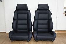2 Recaro C Classic para mercedes e500 w124 Edition asientos de cuero AMG nuevo referido
