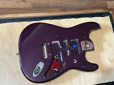 1991 American Fender USA Standard Stratocaster Metallic Purple Guitar Body