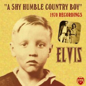 Elvis Presley A Shy Humble Country Boy