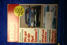 MOT 13/78 Opel Senator Volvo 264 GLE Mercedes 280 E BMW 528i Ford Granada 2,8i