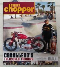 STREET CHOPPER Magazine CABALLERO'S TREASURED TRIUMPH Fall Winter 2016 DAVE BELL