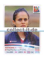 Panini Frauen WM World Cup 2015  - Sticker 392 - Katherine Alvarado
