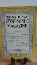 National Geographic Magazine Nat Geo March 1944 (NG30)