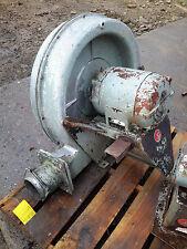 NORTH AMERICAN MFG TURBO BLOWER GG-5205 7.5HP MOTOR 700 CFM furnace industrial