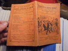 """""""POUR DIRE ENTRE NOUS """" Ancien Recueil de 13 Monologues Comique et Grivoise :"""