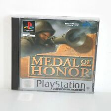 MEDAL OF HONOR (MOH) - PLATINUM - SONY PLAYSTATION PSONE PS1 GAME - MINT