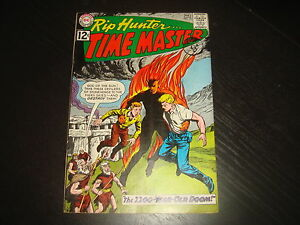 RIP HUNTER, TIME MASTER #12   Silver Age DC Comics 1963  FN+, maybe better
