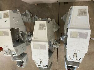 Star wars Legacy AT-AT Walker lot of 3