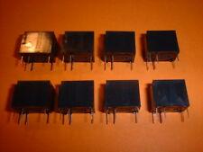 8x Miniatur Relais 12V NAIS HY1-12V Kleinsignal-Relais