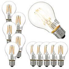 10x LED E27 warmweiß Leuchtmittel Lampe Filament 350lm 2700K 3W Birne
