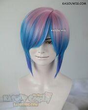 Life is Strange Chloe Elizabeth Price pink blue short wig
