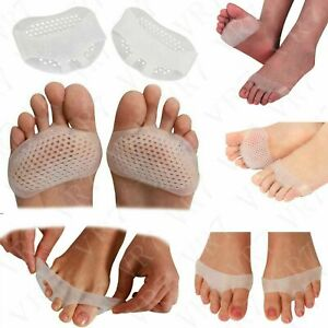 Forefoot Support Gel Metatarsal Sore Ball of Foot Pain Cushions Pads Insoles