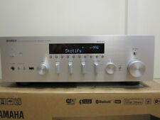 YAMAHA R-N602 HiFi Receiver (2 Kanäle, 105 Watt pro Kanal, Silber) FB, BA OVP