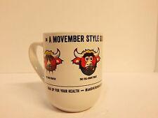 Chicago Bulls Benny the Bull Movember Coffee Cup Mug Stadium Giveaway 2015/2016