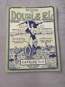 RRL Spring Summer Catalogue no. 19 Lookbook Guide