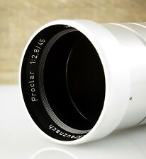 SCHNEIDER Objektiv PROCLAR 2.8/45 Projektionsobjektiv 45mm 2.8 Projection Lens