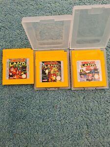 Donkey Kong Land 1,2 and 3 - Nintendo Game Boy