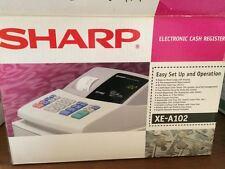 Sharp XE-A102 Cash Register