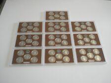 2014 S Proof Parks Quarter Set 10 Pack - No Boxes or COAs, 50-Clad Coins