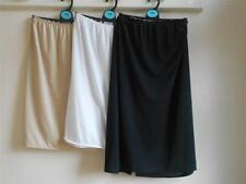 """faMouS store waist slip in black, natural, white, length 19"""" & 23"""" sizes 8 - 20"""