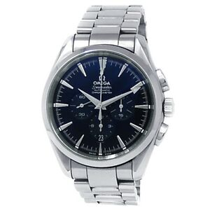 Omega Seamaster Aqua Terra Stainless Steel Auto Black Men's Watch 2512.50.00