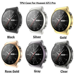 Shockproof Case Cover For Huawei Smart Watch GT2 Pro Full Screen Protector