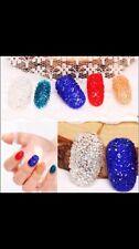 Pink Rhinestone Dust Micro Diamond Mini 3D Nail Art New!!