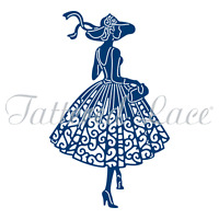 Tattered Lace Lauren out for a stroll Craft cutting Die dies ETL321 Free AU P&P