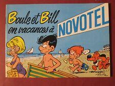 ROBA Album publicitaire BOULE ET BILL EN VACANCES A NOVOTEL 1979 COMME NEUF