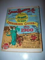 Sears Roebuck and Co., Catalogue 110, Vintage 1970 Repro Of 1900 Catalogue