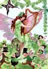 St Patricks Day Fairies Harp by M T Ross